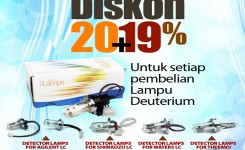 Lampu Deuterium Promotion