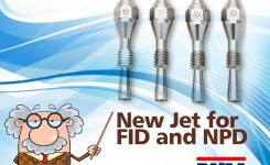 New Jet for FID and NPD
